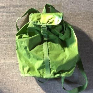 Handbags - LeSportsac Green Medium Backpack